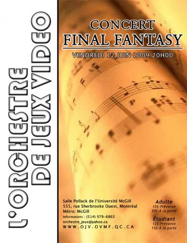 L'orchestre de jeux vidéos présente un concert de Final Fantasy