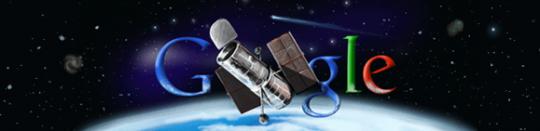 Le logo Google Hubble