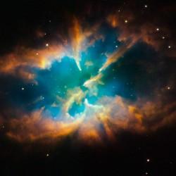 La nébuleuse NGC 2818 dans la constellation Pyxis