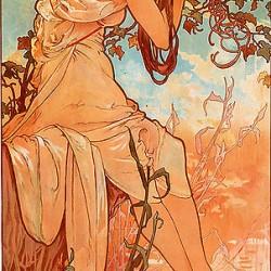 Alfons Mucha - 1896 - Été