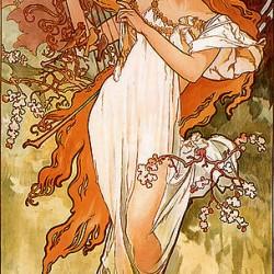 Alfons Mucha - 1896 - Automne