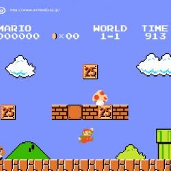 Capture d'écran de l'édition spéciale de Super Mario Bros.