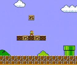 Autre capture d'écran du jeu de Mario spécial Wii