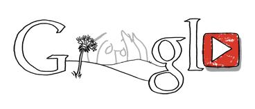 Logo Google John Lennon