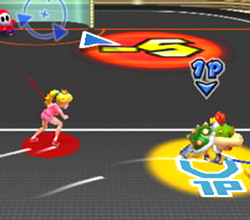 Baby Bowser dans Mario Sports Mix