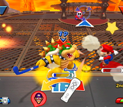 Bowser dans Mario Sports Mix