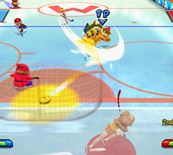 Hockey dans Mario Sports Mix