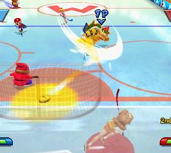 Hockey dans Mario Sports Mix
