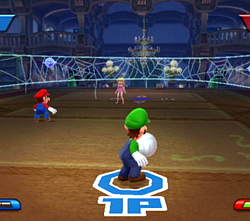Luigi dans Mario Sports Mix