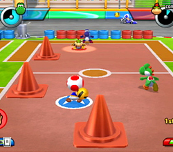 Toad dans Mario Sports Mix