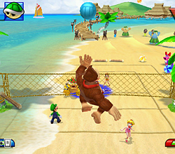 Volleyball dans Mario Sports Mix