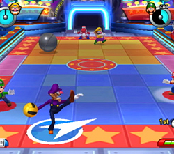 Waluigi dans Mario Sports Mix