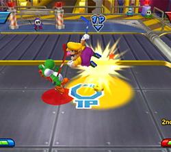 Wario dans Mario Sports Mix