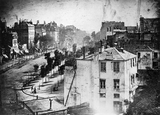 Louis Daguerre et son daguerréotype