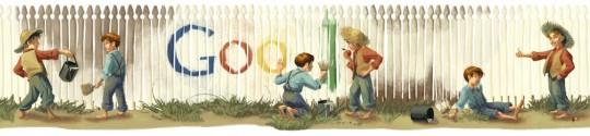 Logo Google de Mark Twain