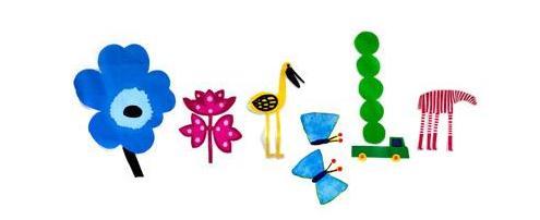 Equinoxe de printemps doodle google