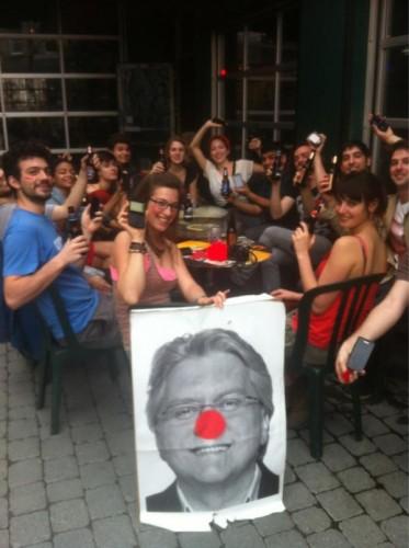 Richard Martineau en clown