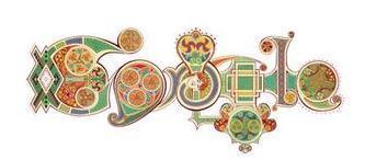 Saint-Patrick doodle 2012