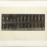Animation d'une femme - Eadweard J. Muybridge