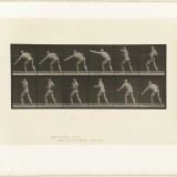 Animation d'un homme - Eadweard J. Muybridge