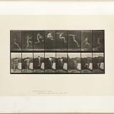 Saut d'un homme - Eadweard J. Muybridge