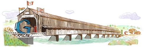 Pont couvert de Hartland, Nouveau-Brunswick