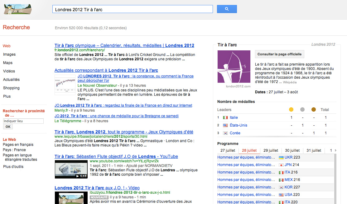 Londres 2012: Tir à l'arc
