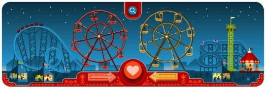 George Ferris Doodle Google