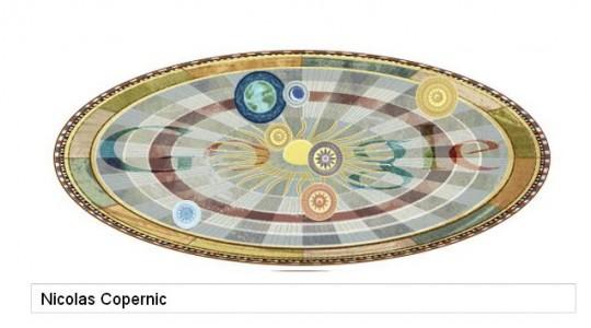 Nicolas Copernic Doodle