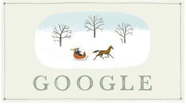 Joyeuses fetes - Google Doodle