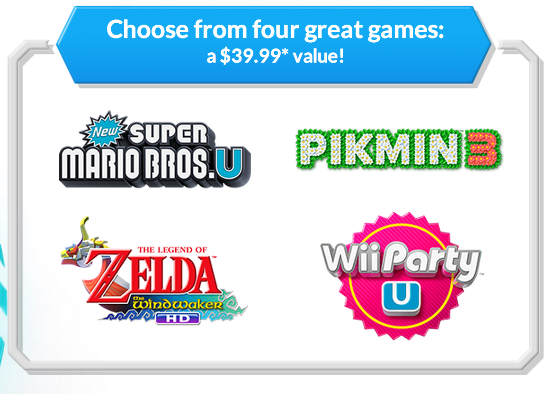 Jeux de Wii U gratuits