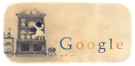 Comtesse de Segur: doodle de Google