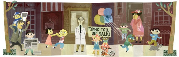 Doodle de Jonas Salk