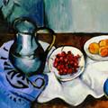 Paul Cézanne honoré par un logo Google