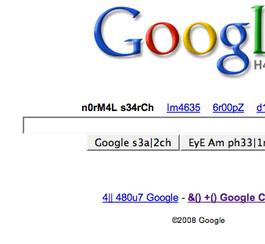 Google dans le langage des hackers!