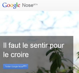 Google Nose: application olfactive