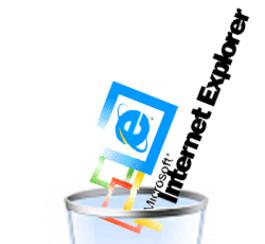 Microsoft jette Internet Explorer 6 à la corbeille