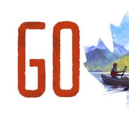 Fête du Canada: un doodle de Google