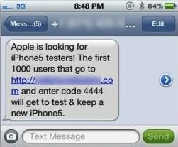 iPhone 5: une nouvelle arnaque fait son apparition