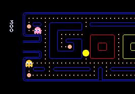 30ème anniversaire de Pac-Man: Google réalise un jeu avec NAMCO BANDAI Games