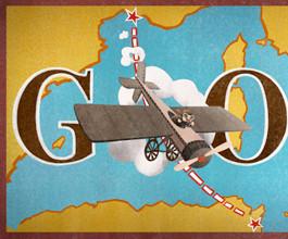 Doodle: Qui a effectué la première traversée aérienne de la Méditerranée?