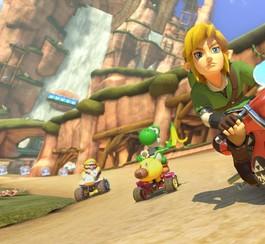 Link s'invitera dans les jeux de Mario Kart 8