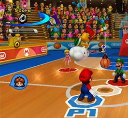 Détails sur les mini jeux de Mario Sports Mix