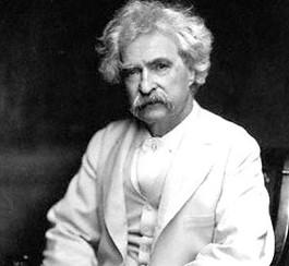 Mark Twain: logo Google de Mark Twain
