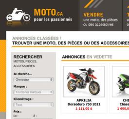 Nouveau site pour les fous de la moto