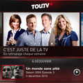 L'application Tou.TV enfin disponible pour iPhone, iPad et iPod Touch!