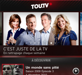L'application Tou.TV enfin disponible pour iPhone, iPad et iPod Touch!