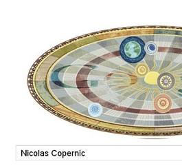 Nicolas Copernic: un doodle anniversaire pour l'astronome