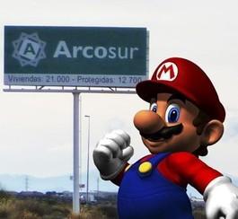 La rue au nom des jeux de Mario inaugurée en Espagne hier