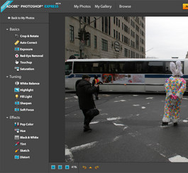 Adobe lance une version en ligne gratuite de Photoshop